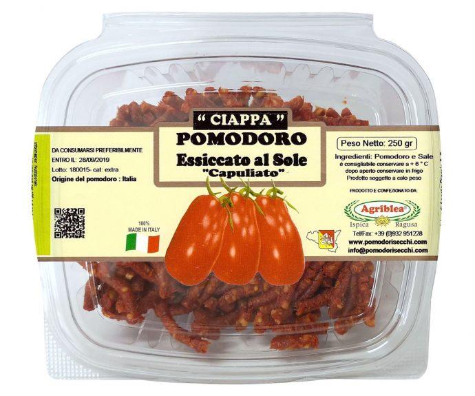 Pomodoro essicato al sole Capuliato gr 250